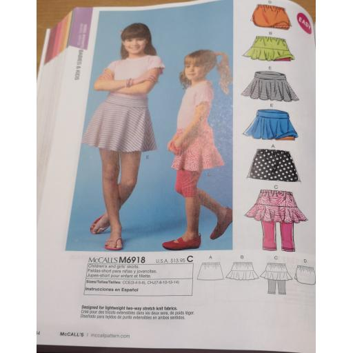 McCalls pattern -girls patterns 1