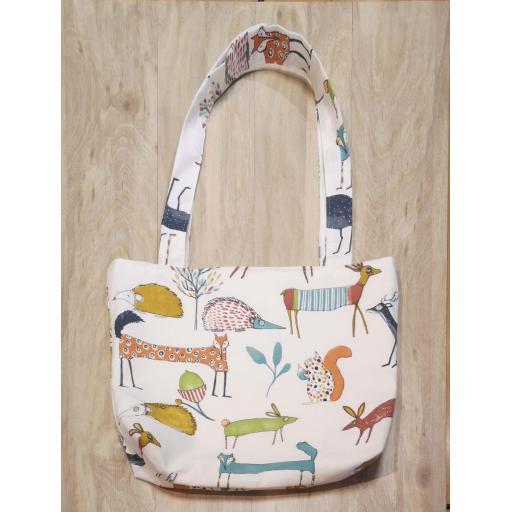 Shopping bag-long handles-medium - Oh my deer