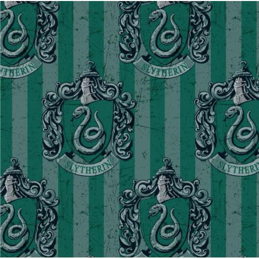 Harry Potter cotton fabric - Slytherin