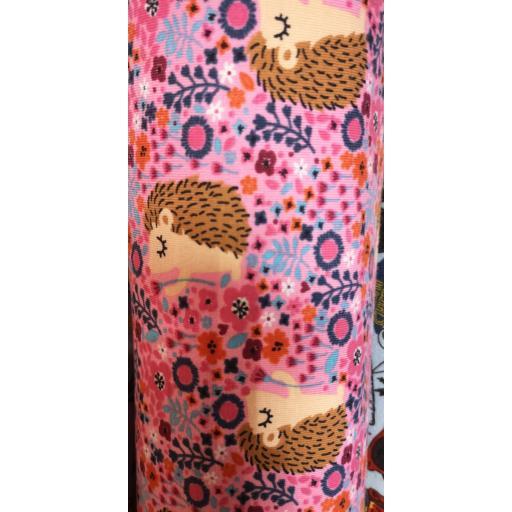 Jersey- pink hedgehogs