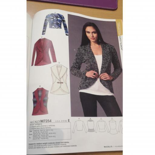 McCalls pattern -ladies coat patterns 1
