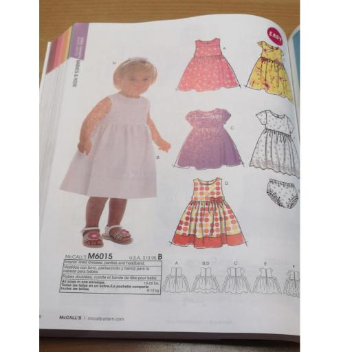 McCalls pattern -baby patterns 2