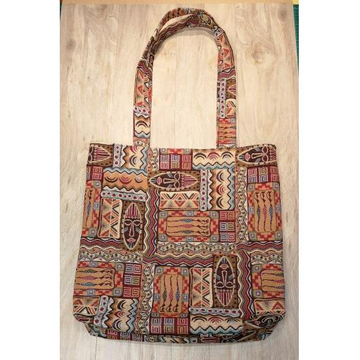 Kenyan Shopping bag-short handles-large