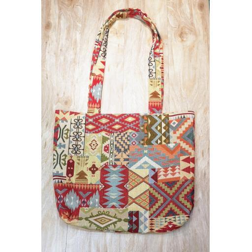 APACHE Shopping bag-long handles-MEDIUM
