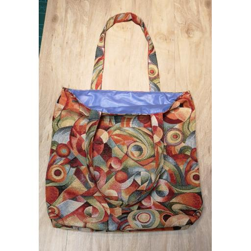 Picasso Shopping bag-short handles-large