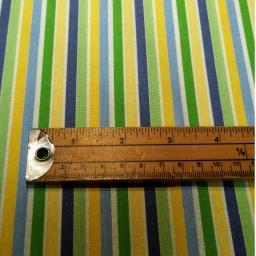 Baby boy themed organic cotton green blue yellow white stripe.jpg