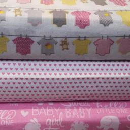 Pink baby themed organic cotton.jpg