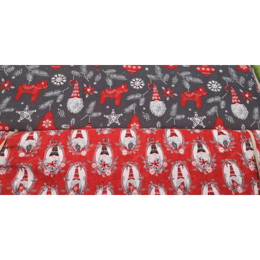 Feed the premium craft cotton fabric - by 3 Wishes