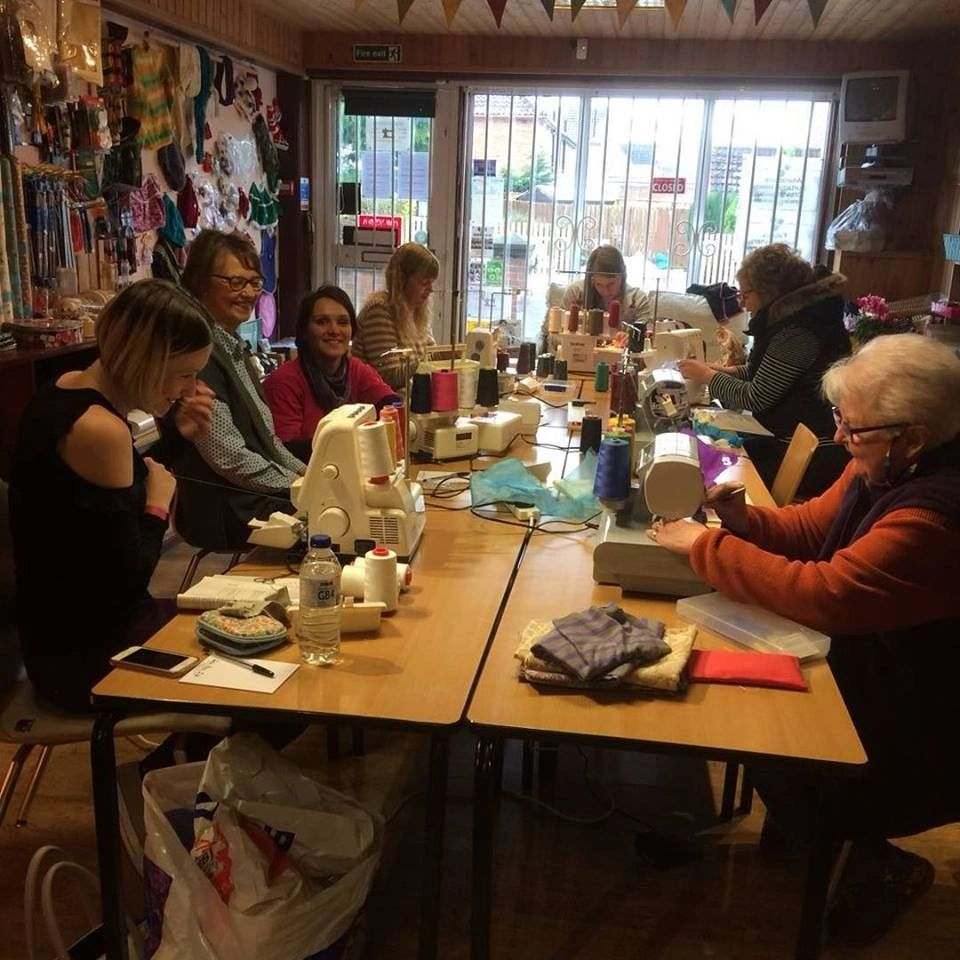 Workshops and classes held in store