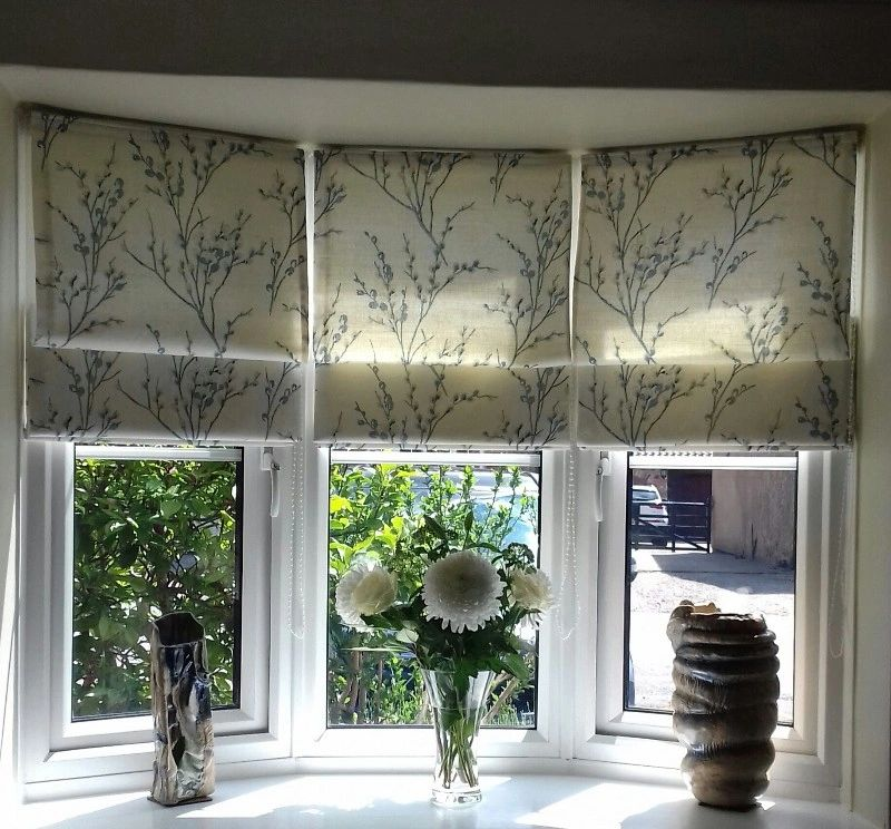 Customer's own fabric made into blinds