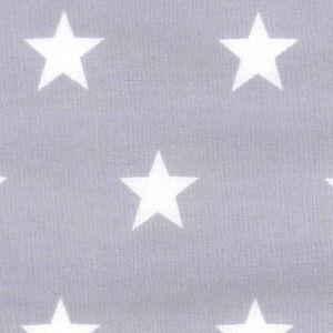 Silver stars poplin £6/m