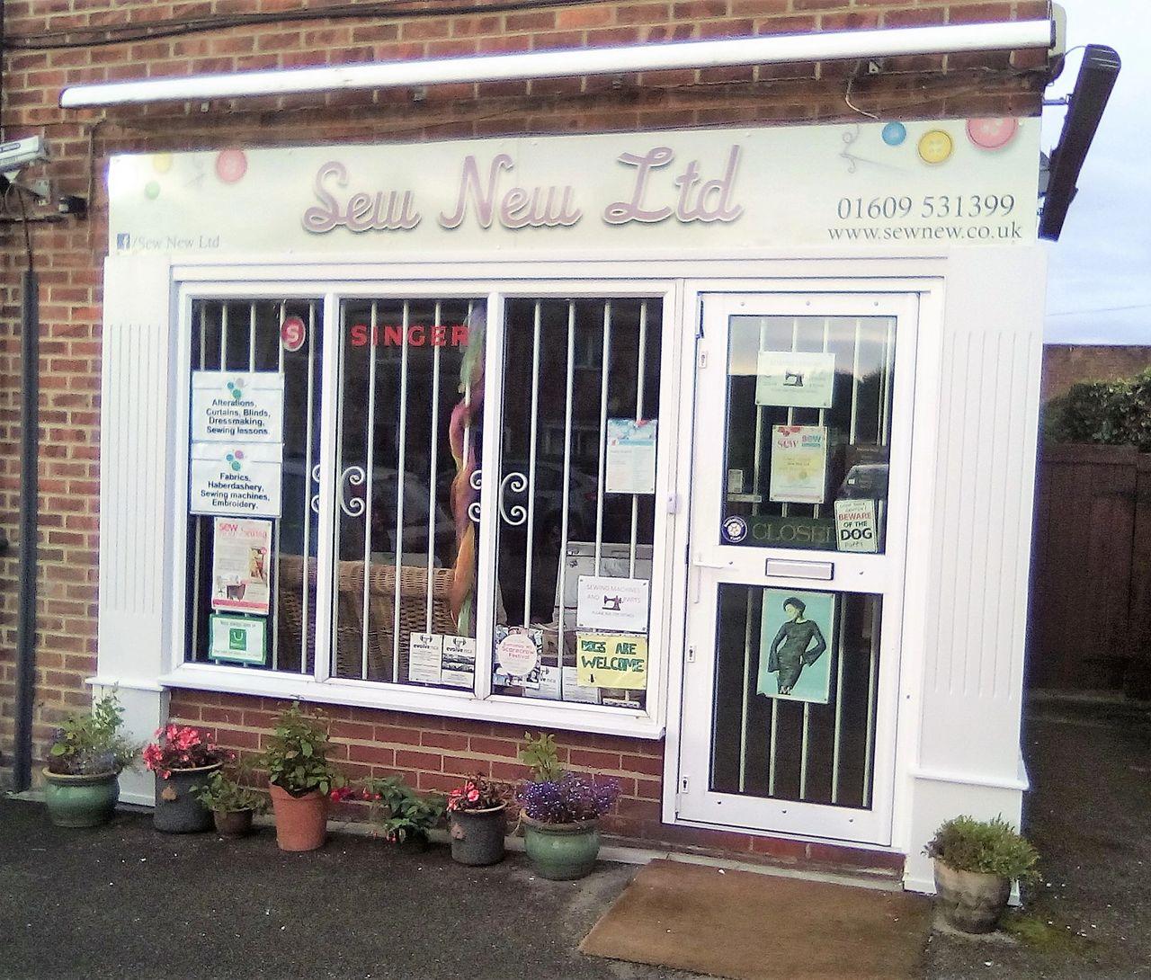 Sew New Ltd's fresh paint job.