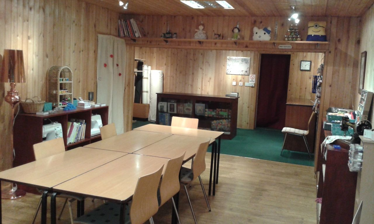 Creating workshop and class space